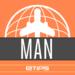 Манчестер - Гид путешественника - с дополненной реальностью, Офлайн карта улиц и метро - Официальный туристический гид по городу - Англия